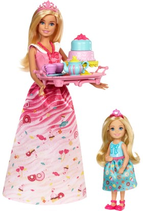 Barbie Dreamtopia Barbie ve Chelsea'nin Çay Partisi