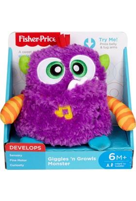Fisher-Price Kıkırdayan Sevimli Peluş Canavar