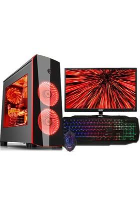 "Izoly M705 Intel Core i7 2640M 16GB 1TB GTX1050 Freedos 22"" Masaüstü Bilgisayar"