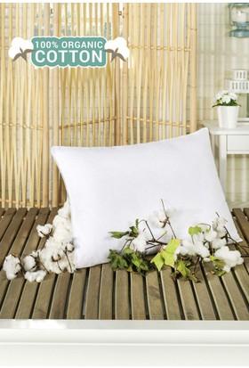 Organik Pamuk Yastık 50 x 70 cm Beyaz