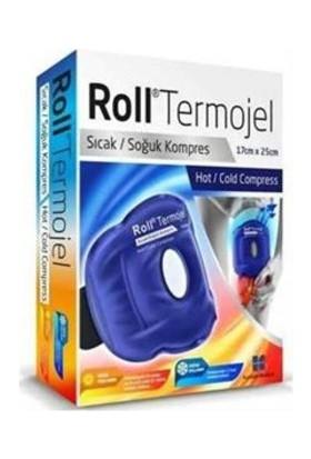 Roll Termojel Diz İçin Sıcak Soğuk Kompres Jel 17X25Cm Kumaş Kaplı