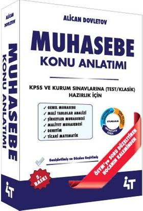 KPSS A Muhasebe Konu Anlatımı Alican Dovletov 5. Baskı