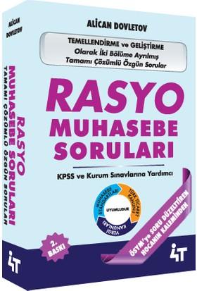 KPSS A Rasyo Muhasebe Soruları Çözümlü Alican Dovletov 2. Baskı