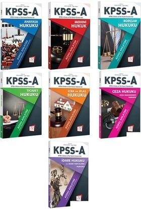 2018 KPSS A Hukuk Konu Anlatım Seti