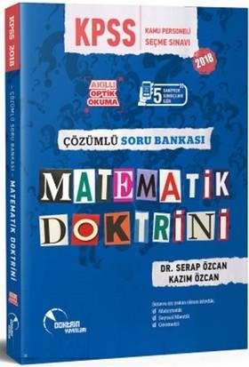 Doktrin 2018 KPSS Matematik Doktrini Soru Bankası Çözümlü