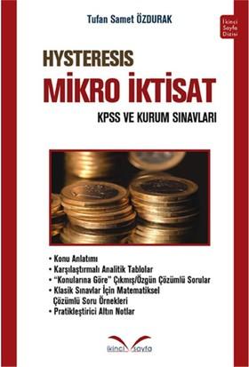İkinci Sayfa KPSS A Hysteresis Mikro İktisat