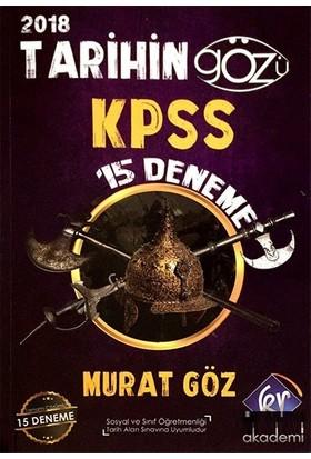 Kr Akademi 2018 KPSS Tarihin Gözü 15 Deneme Yayınları