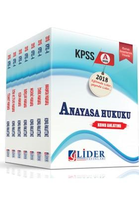 Lider 2018 KPSS A Hukuk Konu Anlatımlı Modüler Set