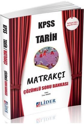 Lider 2018 KPSS Tarih Matrakçı Soru Bankası Çözümlü
