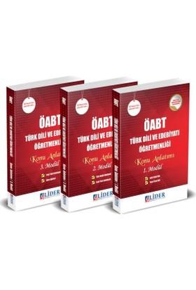 Lider 2018 ÖABT Türk Dili Ve Edebiyatı Öğretmenliği Konu Anlatımlı Modüler Set