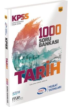 Murat 2018 KPSS Tarih 1000 Soru Bankası Çözümlü