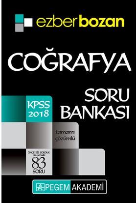 Pegem 2018 KPSS Ezberbozan Coğrafya Soru Bankası Çözümlü