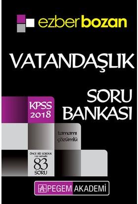 Pegem 2018 KPSS Ezberbozan Vatandaşlık Soru Bankası Çözümlü
