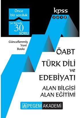 Pegem 2018 ÖABT Türk Dili Ve Edebiyatı Konu Anlatımlı