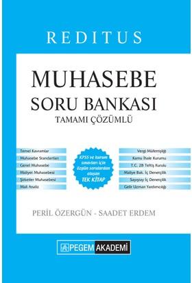 Pegem KPSS A Reditus Muhasebe Soru Bankası Çözümlü