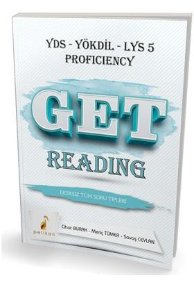 Pelikan YDS Yökdil Get Reading Eksiksiz Tüm Soru Tipleri Soru Bankası