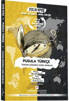 Pusula 2018 KPSS Pusula Türkçe Soru Bankası Çözümlü
