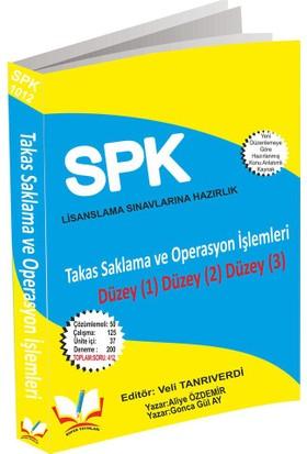 Roper SPK SPF Lisanslama 1012 Takas Saklama Ve Operasyon İşlemleri Düzey 1-2-3