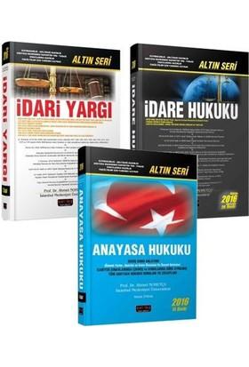 Savaş Anayasa Hukuku İdare Hukuku İdari Yargı 3'lü Set Ahmet Nohutçu