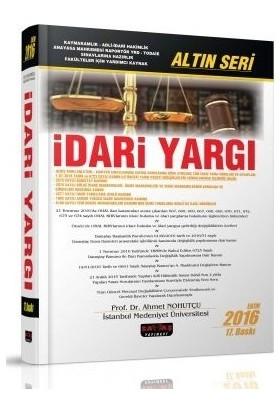 Savaş İdari Yargı Altın Seri Ahmet Nohutçu 17. Baskı