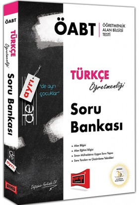 Yargı 2018 ÖABT De Ayrı Türkçe Öğretmenliği Soru Bankası