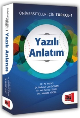 Yargı Yazılı Anlatım Üniversiteler İçin Türkçe-1