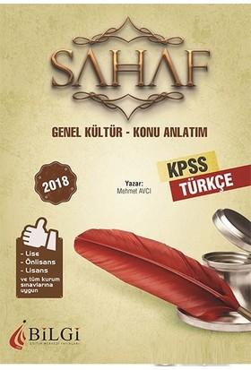 Bilgi Eğitim 2018 KPSS Sahaf Türkçe Konu Anlatımı