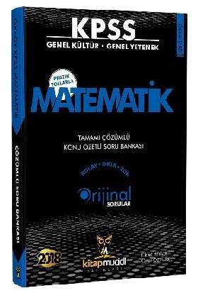 Kitap Mucidi 2018 KPSS Matematik Konu Özetli Soru Bankası Çözümlü