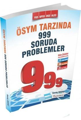 Tr Akademi YGS KPSS DGS ALES Ösym Tarzında 999 Soruda Problemler