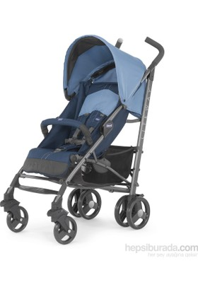 Chicco Lite Way2 Top BB Baston Bebek Arabası / Blue