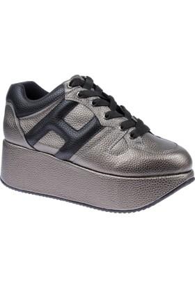 Shalin Kadın Ayakkabı Lfm 457 PlatinDolgu Taban