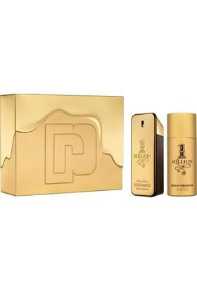 Paco Rabanne One Million 100 Ml Edt Erkek Parfüm Seti