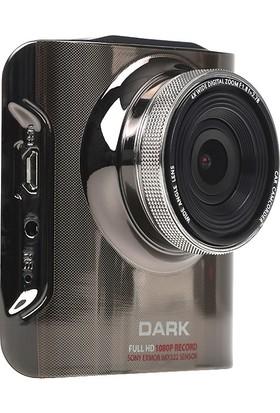 """Dark AT1 Ultra Gece Görüşlü Sony IMX322 Sensörlü 12MP 1080p 170 Geniş Açılı 2.31"""" LCD Ekranlı Araç İçi Kamera (DK-AC-AT1)"""