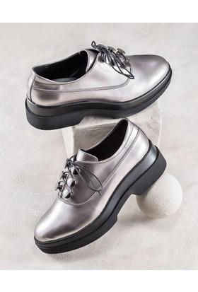 Elle Gabriella Kadın Ayakkabı Kurşun