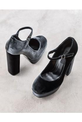 Elle Madolen Kadın Ayakkabı Füme