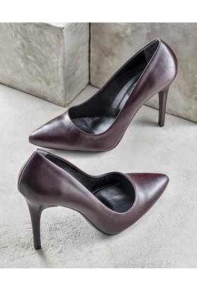 Elle Melisaa Kadın Ayakkabı Bordo