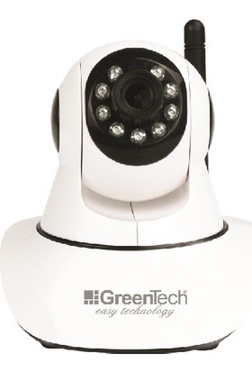 Greentech GT-IP37HD WiFi Hareketli IP Kamera