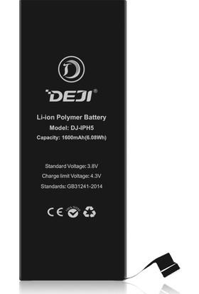 Deji Apple iPhone 5 Batarya  (1600Mah)