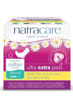 Natracare Ultra Ekstra Kanatlı Ped - Normal 12x1 adet