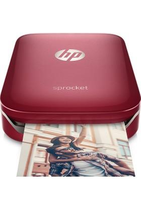 HP Sprocket Kırmızı Fotoğraf Yazıcı Z3Z93A