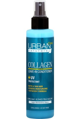 URBAN Care Collagen Keratin Kuru Mat ve Hacimlendirici Sıvı Saç Kremi - 200ml