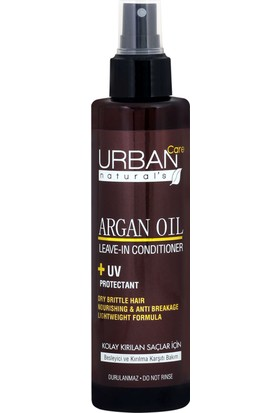 URBAN Care Argan Yağlı Kırılma Karşıtı Sıvı Saç Kremi - 200ml