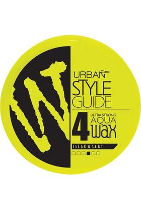 URBAN Care Style Guide Islak Görünüm ve Sert Tutuş Aqua Wax - 100ml