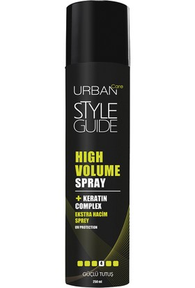 URBAN Care Style Guide High Volume Hacim Veren Hafif Tutuş Sprey - 250ml