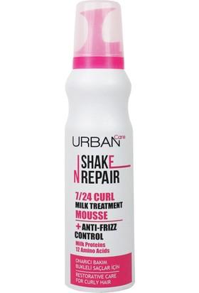URBAN Care Shake N Repair Süt Proteini İçeren Bukleli Saçlar İçin Durulanmayan Krem Köpük - 150ml
