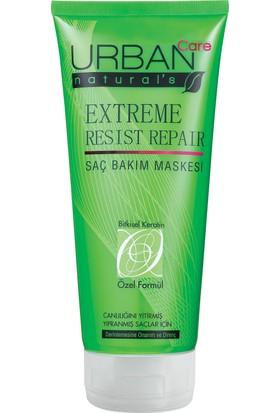 URBAN Care Extreme Resist Repair Dolgun ve Güçlü Uzayan Saçlar için Maske - 200ml