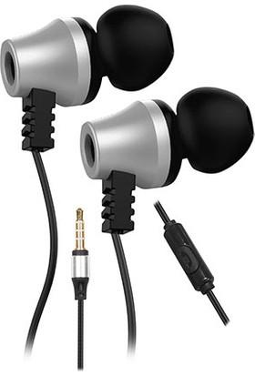 Snopy SN-J02 Thunderbird Mobil Telefon Uyumlu Taşıma Çantalı Kulak İçi Siyah/Gümüş Mikrofonlu Kulaklık