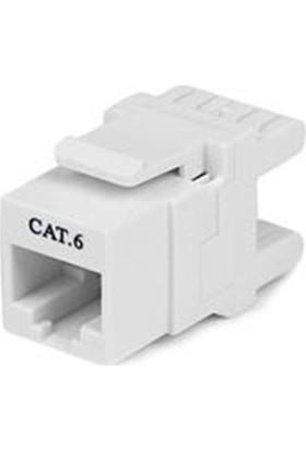 S-link SL-KS65 Cat6 Kestone Jak Beyaz