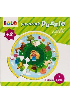 Yuvarlak Puzzle: Çiftlik