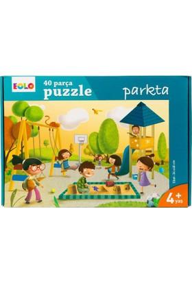 40 Parça Yer Puzzle: Parkta